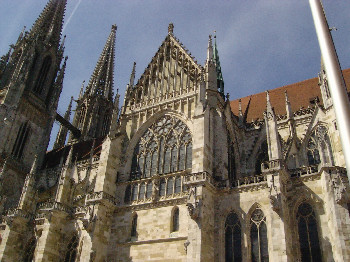 Regensburger Dom - Regensburg Cathedral Side 2